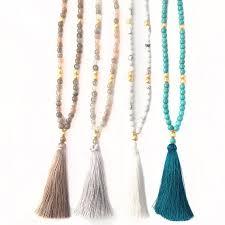 beaded tassel necklace images Boho beaded tassel necklace style pinterest tassel necklace jpg