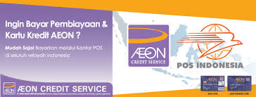 bca aeon aeon card payment through post office aeon credit service
