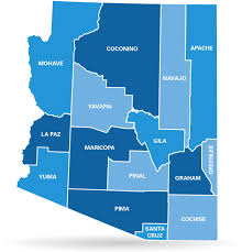 Arizona Counties Map by Azblue Arizona Department Of Administration Pick A Plan