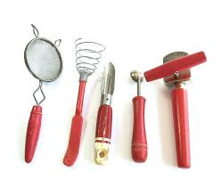 Kitchen Utensils Red - 24 best old wood handled kitchen tools images on pinterest