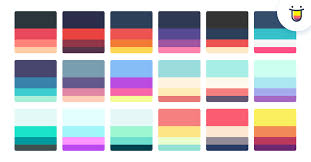 Website Color Schemes 2016 Color Hunt Beautiful Color Palettes