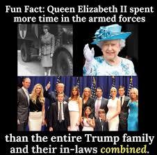 Queen Elizabeth Donald Trump Best 25 Donald Trump Military Service Ideas On Pinterest