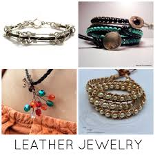 make bracelet with leather cord images How to make leather jewelry 10 tutorials to try jpg