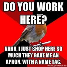 Retail Robin Meme - retail robin weightloss health weight loss true story