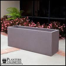 rectangular fiberglass planters fiberglass rectangular planter boxes
