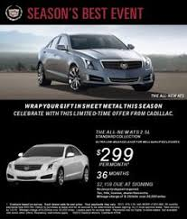 cadillac ats lease specials drive a escalade for 837 month no dallas