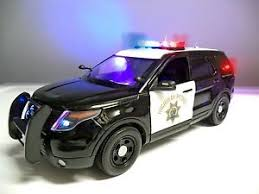 toy police cars with working lights and sirens for sale 1 18 california highway patrol suv truck working lights siren it