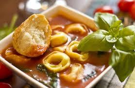 Italian Soup by Rustic Italian Tortellini Soup Recipe Sparkrecipes