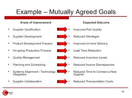 Areas Of Improvement In Resume Vendor Management