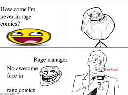 Meme Face Comics - ragegenerator rage comic awesome face true story