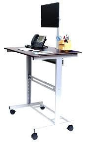 small stand up desk small stand up desk mobile standing desk computer desk adjustable