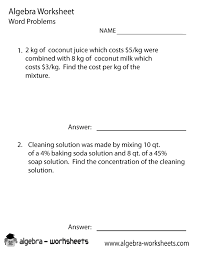 equation word problems worksheet worksheets for all and share worksheets free on bonlacfoods com
