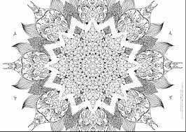 surprising printable mandala coloring pages adults with doodle art