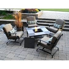 5 piece patio table and chairs 5 piece conversation patio set better homes and gardens 5 piece
