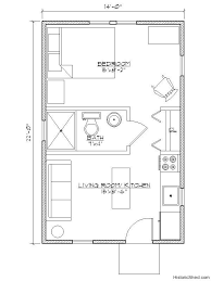 one bedroom one bath house plans floor plan 14 x 22 one bedroom search suite