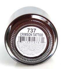 jessica custom nail polish crimson tattoo 737 0 5 oz 15 ml ebay