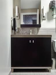 Dark Gray Bathroom Vanity by Contemporary Black And Gray Bathroom Vanity Black And Gray