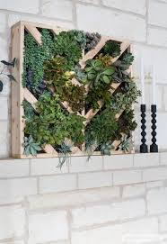 planter for succulents how to make a vertical succulent garden