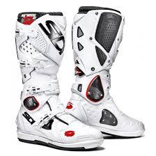 661 motocross boots sidi crossfire 2 srs motocross mx boots white white matt