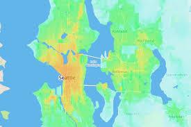 Redmond Washington Map by Seattle Is The 8th Best U S City For Public Transit Commuting