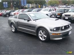 Black 2009 Mustang 2009 Vapor Silver Metallic Ford Mustang Gt Cs California Special
