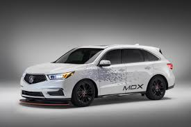 sema what were they thinking acura reveals custom mdx tow rig