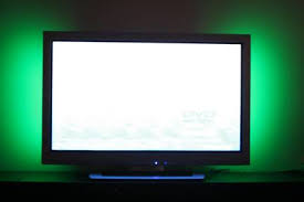 ambient light behind tv how to use lighting to increase the value of an ht system hometoys