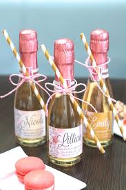 Bridesmaid Asking Gifts Personalise The Good Stuff With Joie Labels Joie Mini Champagne