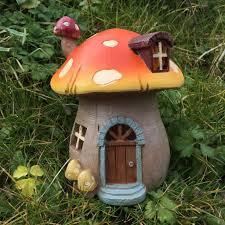 Outdoor Mushroom Lights by Fairy House Toadstool With Lights U2013 Prezents