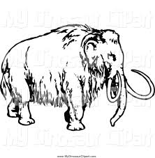 woolly mammoth clipart 33