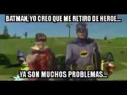Memes De Batman Y Robin - batman y robin en apuros meme youtube
