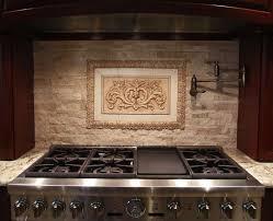 backsplashes rustic tile backsplash with ceramic tile mural