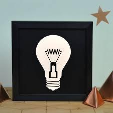 light box light bulbs contemporary light bulb illuminating light box by oakdene designs