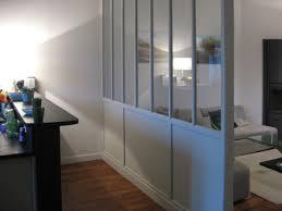 cloison vitree cuisine salon cloison vitrée bois meubles et boiseries