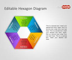 free editable hexagon diagram for powerpoint presentations