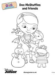 doc mcstuffins coloring pages disney halloween coloring pages