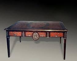 scrivanie stile antico barocco scrivania stile antico bureau plat mosr0390