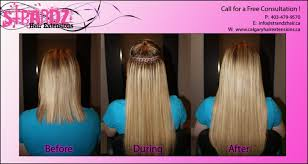hair extension canada strandz hair extensions from calgary canada hairdresser