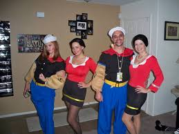 olive oyl costume popeye the sailor wo