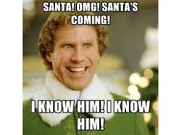 Elf Movie Meme - santa buddy the elf are coming to altitude troline park
