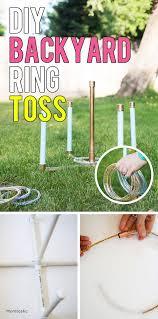 Diy Backyard Games by How To Make A Backyard Ring Toss Game Ring Toss Tossed And Backyard
