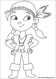 jake neverland pirates coloring pages print coloring