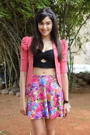 kerala adah sharma photos in floral short skirts n long legs
