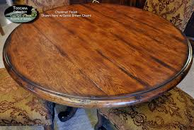 48 round teak table top excellent 48 round reclaimed barn wood restaurant table top bar