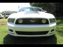 Black 2013 Mustang Sold 2013 Ford Mustang Gt Coupe 400a 6spd Man White Black Stripe