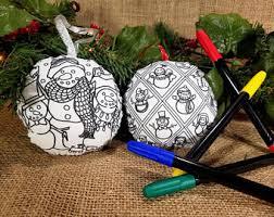 snowman ornament kit etsy