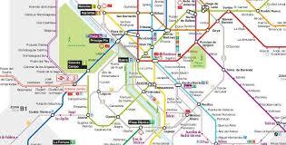 map plano madrid metro map