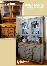Old Kitchen Cupboards Makeover - china cabinet makeover