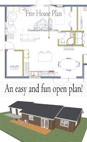 15000 square foot house plans free house plan open home plan utilizing less then 1 100 square feet