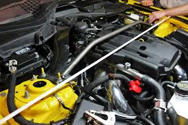 hoonigan mustang suspension stiffen your u0027stang 2015 mustang strut tower brace r u0026d part 1